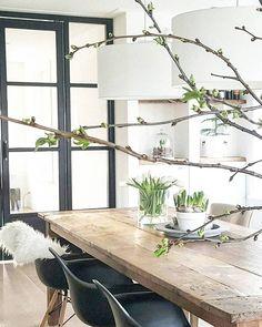 Scandinavian Home Inspiration Modern Farmhouse Style, Modern Farmhouse Kitchens, Modern Interior Design, Interior And Exterior, Country House Interior, Vintage Interiors, Scandinavian Home, Minimalist Home, Interior Inspiration
