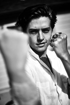 Cole Sprouse - April 2017 #blackandwhite