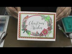 #166 Learn about Sizzix Christmas Dies, Gel Pens & How to Color Stickers by Scrapbooking Made Simple - YouTube