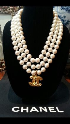Chanel Charm Necklace Vintage repurposed Designsbyz zumphlette@aol. com