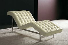 Contemporary leather lounge chair AMERIGO by Vittorio Prato from Valdichienti.(Image Courtesy of HausCapsule)