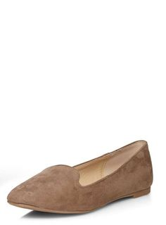 f8aaf71bdad Taupe  Pacca  slipper pumps - Flat Shoes - Shoes