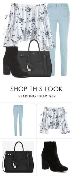 """""""Outfit #1610"""" by lauraandrade98 on Polyvore featuring Armani Jeans, Yves Saint Laurent and Witchery"""