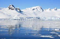 Antarctic Peninsula - Buy this stock photo and explore similar images at Adobe Stock Antarctica, Global Warming, Ecology, Freeze, Wilderness, Frost, Reflection, Landscapes, Environment