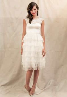 Reception dress. Have to.