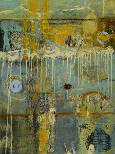 Encaustic Artist Mary Black - Encaustic Art Mixed Media - Corpus Series