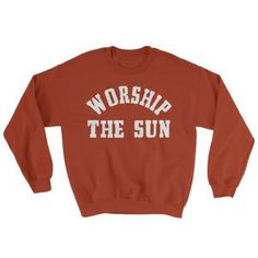 Worship The Sun Sweater