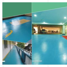 sample project of polyurea flooring for parking area