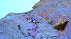 Did Mainliner on Sunday. Really fun route, photo from MP. Lumpy Ridge > Sundance Buttress > Mainliner (5.9)