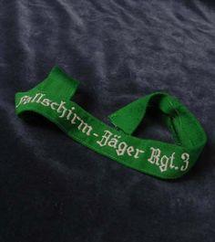 Luftwaffe Cuff Title. Fallschirm-Jäger Regiment 3.