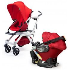 If you are looking for the most non-toxic stroller and non-toxic car seat, this appears to be it: the Orbit Baby.  Orbit Baby products are certified safe by Oeko-Tex® Standard 100.  Also, Orbit Baby meets all applicable flame retardancy standards without the potentially harmful chemicals, like PBBs and PBDEs, used in most other car seats.