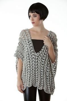 Ravelry: Mercury pattern by Heather Dixon. I'm not sure what it is but I like it..