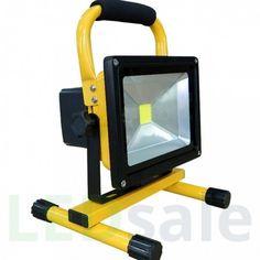 Kannettava Ladattava LED Valonheitin 20W - Kannettavat LED-Valonheittimet - LED Valonheittimet