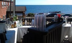 Bar with a view. We think of everything!  #mostlybecky #Lakeview Patio