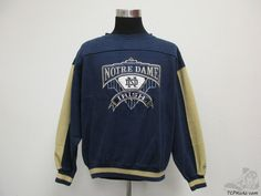 Vtg 90s Midwest Notre Dame Fighting Irish Crewneck by TCPKickz
