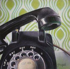 Nicole Caulfield Fine Art: Talk To Me