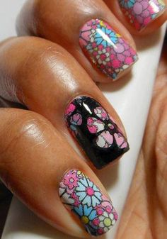 Cool Nail Design. Love what they have done here.