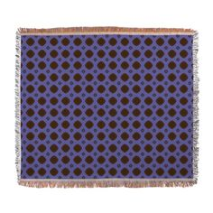 Blue Brown pattern throw blanket #decor #styles http://www.cafepress.com/+woven_blanket,1698061629?utm_source=twitter&utm_tracking=social&utm_content=pdp
