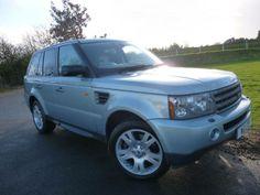 2005 #LandRover #RangeRoverSport 4.4 V8 HSE 5dr Auto Estate. Petrol. Silver. Click for loads more. £18,975
