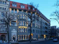 Hotel am Steinplatz Berlin Berlin, Brand Architecture, Das Hotel, Hospitality, Architects, Art Nouveau, Hotels, Street View, American