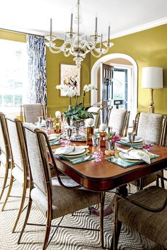 This Home Will Inspire You to Break with Tradition: Painting Walls Chartreuse