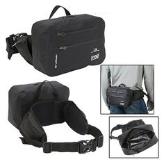 Fanny Packs & Waistpacks - Pin it! :)  Follow us :))  zCamping.com is your Camping Product Gallery ;) CLICK IMAGE TWICE for Pricing and Info :) SEE A LARGER SELECTION of fanny packs & waistpacks at http://zcamping.com/category/camping-categories/camping-backpacks/fanny-packs-and-waistpacks/ - camping,camping gear -Waist Pack Bag Black Fanny Bag Pouch Belt Travel Waterproof Lewis N Clark New « zCamping.com