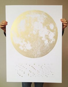 Over the Moon: Chic Celestial Calendars for 2014