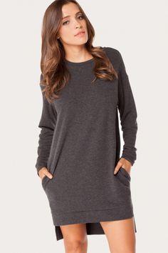 Hello To Autumn Pullover Dress