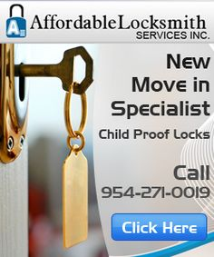 Are you feeling the need of enhanced security? Affordable locksmith can help you. We are a professional locksmith services in Boynton Beach, specializing in electronic digital locks, master keying, lost keys, install dead bolt and lock rekeyed services. For more detail find this link: http://www.affordablelocksmith.com/locksmith-boynton-beach.htm or call at: 561-907-4884
