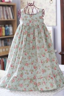 Cute nightgown idea - similar to M's Disney Princess gowns patterns