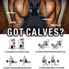 Big And Strong Calves Training - Healthy Fitness Workout Plan - Yeah We Train !