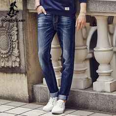 Mens Multi Pocket Wide Leg Loose Cargo Jeans For Men Hip Hop Baggy Jeans Homme Men's Biker Denim Trousers Slack Plus Size 44 46