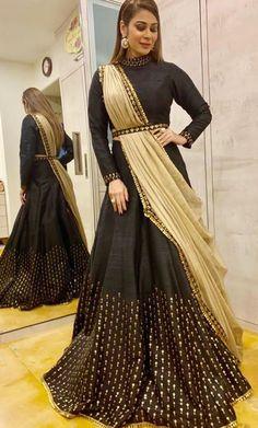 Black lehenga choli To purchase mail us at or Whatsapp is on Choli Blouse Design, Choli Designs, Lehenga Designs, Blouse Designs, Indian Designer Outfits, Indian Outfits, Designer Dresses, Lehnga Dress, Lehenga Choli