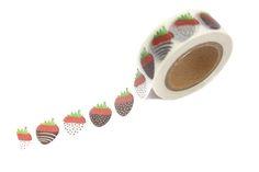 Chocolate Strawberries Washi Tape