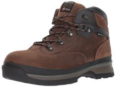 Timberland PRO Mens EURO Hiker Alloy Toe Waterproof Industrial and  Construction Shoe Brown Full Grain Leather