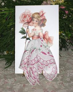 Lovely Little Lady/Easter by onceuponahanky on Etsy, $10.00