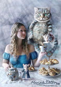 Tea-party in Wonderland by mary-petroff.deviantart.com