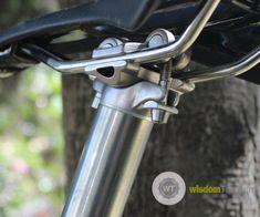 High end titanium 2 bolt bike seatposts MTB - Buy titanium seatpost, titanium bicycle parts(TI3AL2.5V) Product on Wisdom Titanium