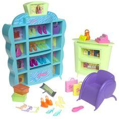 iVendas.net Produtos Importados EUA , USA Brinquedo Barbie Chic Shoe Store Playset 2001 iVendas.net Produtos Importados EUA , USA