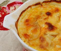 Au-Gratin potatoes - much easier than one would think!