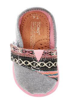 Chambray Serape Slip-On Shoe (Baby, Toddler, & Little Kid)