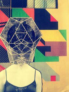 quien pierde su cabeza de niño, pierde su cabeza. Collage por Zayrus Selector