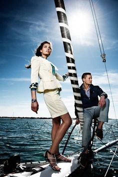 Finding the Right Vessel At Boat Shows Yacht Fashion, Boat Fashion, Nautical Outfits, Nautical Fashion, Yacht Boat, Yacht Club, Montecarlo Monaco, Boat Insurance, Tall Women