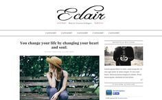 Eclair Blogger Template | High Quality Free Blogger Templates
