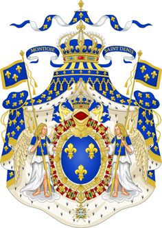 Grand Royal Coat of Arms of France-The House of Bourbon is a European royal house of French origin, a branch of the Capetian dynasty. Bourbon kings first ruled Navarre and France in the 16th century. By the 18th century, members of the Bourbon dynasty also held thrones in Spain, Naples, Sicily, and Parma. Spain and Luxembourg currently have Bourbon monarchs.