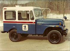 Old Mail Trucks