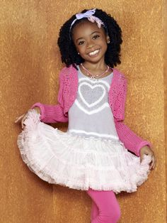Is this the little girl from Jesse?  She's too cute!