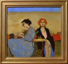 Milt Kobayashi, Remembering Days Past oil Painting People, Figure Painting, Painting Inspiration, Art Inspo, Modern Art, Contemporary Art, Milt Kobayashi, Paintings I Love, Portrait Art