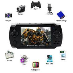 Kameralı 6000 Oyunlu Oyun Konsol (8GB Dahili Hafıza) - Doğum Günü Hediyeleri - Durbuldum.com - yılbaşı hediyesi