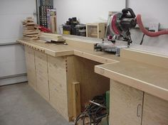 miter box bench | Mitre Saw Station 3 - Kreg Jig Owners Community